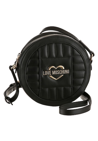 LOVE MOSCHINO Mini Bag, in runder Form, mit goldfarbenen Details kaufen
