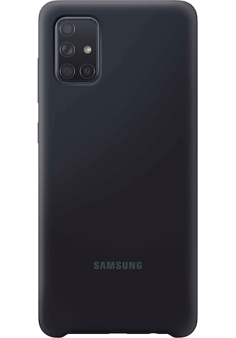 Samsung Smartphone - Hülle »EF - PA715 Silicone Cover für Galaxy A71« kaufen