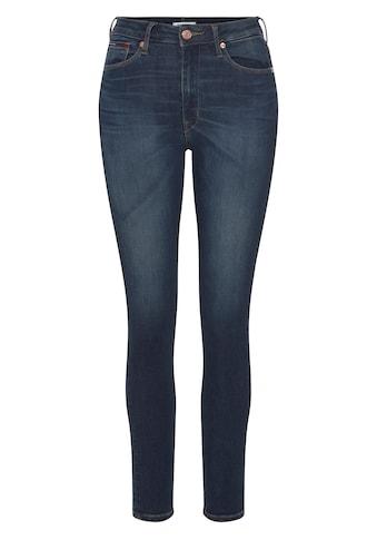 TOMMY JEANS Skinny - fit - Jeans »SYLVIA HR SUPER SKNY KDBST« kaufen