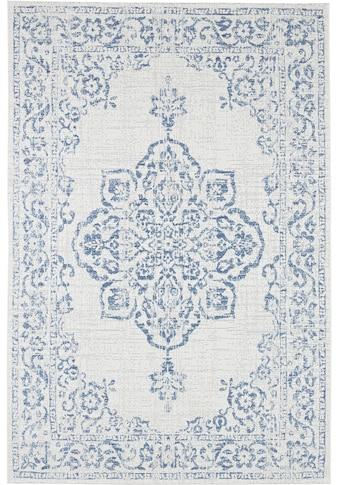 bougari Teppich »Tilos«, rechteckig, 8 mm Höhe, Vintage Design, In- und Outdoor geeignet, Wohnzimmer kaufen