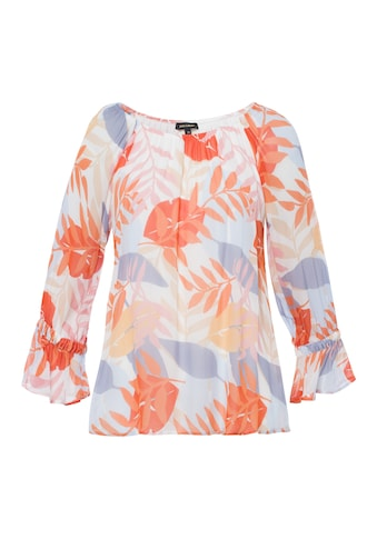 MORE&MORE Printed Bat Wing Blouse Active kaufen