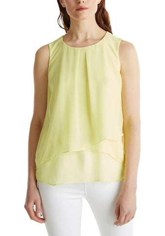 Esprit Collection Chiffonbluse, im Lagen-Look kaufen
