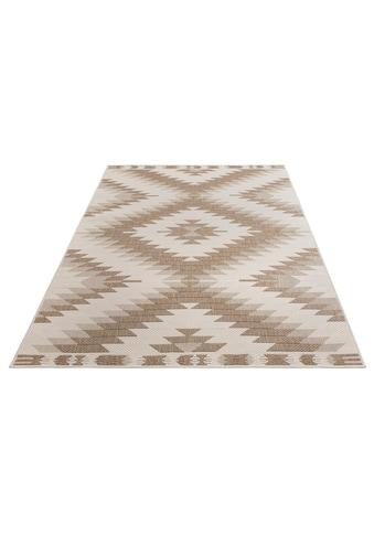 Home affaire Teppich »Antim«, rechteckig, 5 mm Höhe, Flachgewebe, beidseitig verwendbar, In-und Outdoor geeignet, Wohnzimmer kaufen