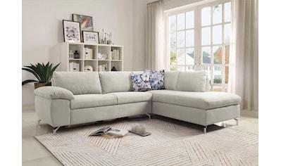ATLANTIC home collection Ecksofa, mit Federkern kaufen