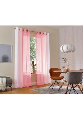 my home Gardine »Valverde«, Vorhang, Fertiggardine, transparent kaufen