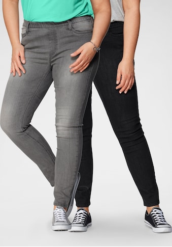 Flashlights Jeansjeggings, (Packung, 2er-Pack), High Waist kaufen
