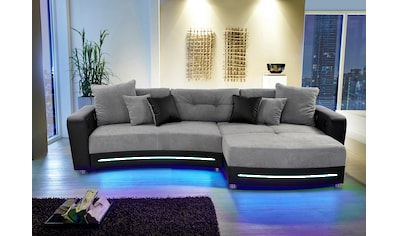 Jockenhöfer Gruppe Ecksofa, inklusive RGB-LED-Beleuchtung und Bluetooth-Soundsystem,... kaufen