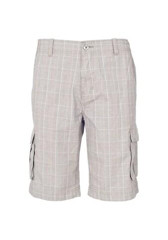 Trespass Cargoshorts »Herren Commerson Cargo-Shorts / Shorts, längere Länge, Karomuster« kaufen