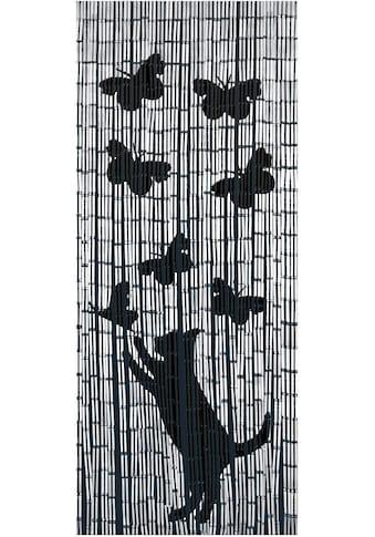 WENKO Türvorhang »Katze&Schmetterling« kaufen