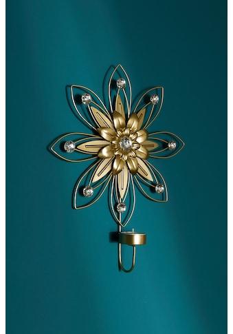 Myflair Möbel & Accessoires Wandblaker »Blüte«, Kerzen-Wandleuchter, Kerzenhalter,... kaufen