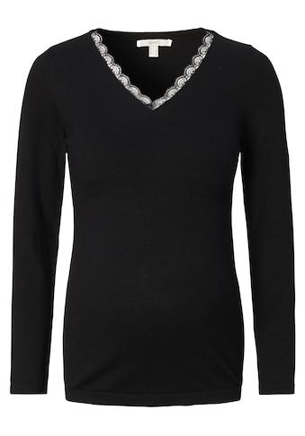 ESPRIT maternity V-Ausschnitt-Pullover kaufen