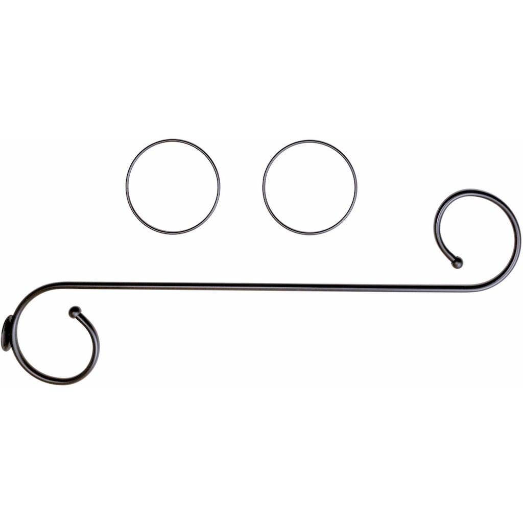 Good Life Himmelbettgarnitur »Antonia«, (3 St.), mit 2 Deko-Ringen