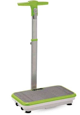 VibroShaper™ Vibrationsplatte, 200 W, 3 Intensitätsstufen, (Set, mit Trainingsbändern), mit abnehmbarer Haltestange kaufen