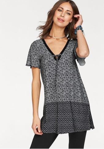 Boysen's Longshirt, mit Schnürung am V-Ausschnitt kaufen