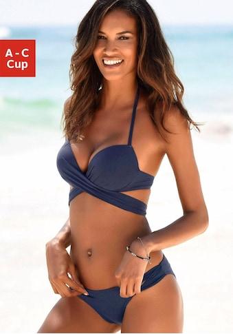 s.Oliver Push-Up-Bikini, mit zusätzlichen Bindebändern kaufen