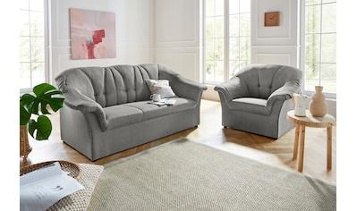 DOMO collection Polstergarnitur »Pegnitz«, (Set), Sessel und 3-Sitzer kaufen