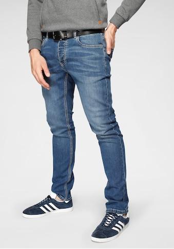 John Devin Slim-fit-Jeans, mit Knopfleiste kaufen