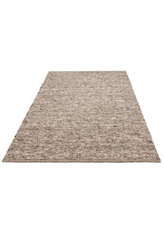 Home affaire Wollteppich »David«, rechteckig, 16 mm Höhe, reine Wolle, handgewebt, weiche Haptik, Wohnzimmer kaufen