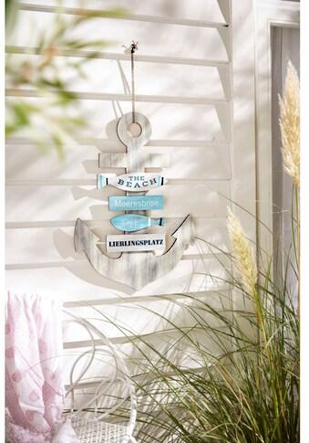 Schneider Wanddekoobjekt »Anker« kaufen