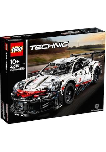 LEGO® Konstruktionsspielsteine »Porsche 911 RSR (42096), LEGO® Technic«, (1580 St.),... kaufen
