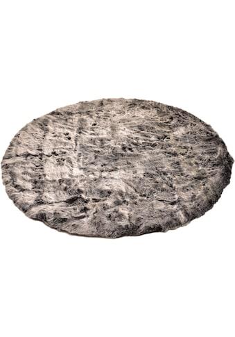 Fellteppich, »Velvet«, Böing Carpet, rund, Höhe 50 mm, maschinell gewebt kaufen
