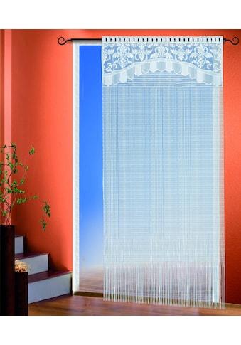 Fadenvorhang, »Hagen«, WILLKOMMEN ZUHAUSE by ALBANI GROUP, Stangendurchzug 1 Stück kaufen