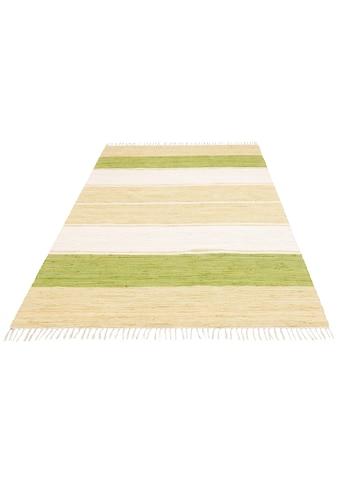 Teppich, »Merle«, Home affaire, rechteckig, Höhe 5 mm, handgewebt kaufen