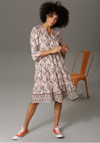 Aniston CASUAL Tunikakleid, mit verspielten Paisley-Druck kaufen