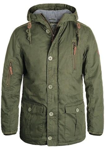 Solid Langjacke »Clark Jacke«, warme Jacke mit hochabschliessendem Kragen kaufen