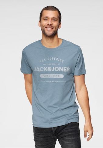 Jack & Jones T-Shirt »JEANS TEE« kaufen