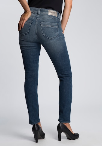 MAC Ankle-Jeans »Rich-Slim«, Aufwendige Nieten-Details vorne und an den Gesässtaschen kaufen