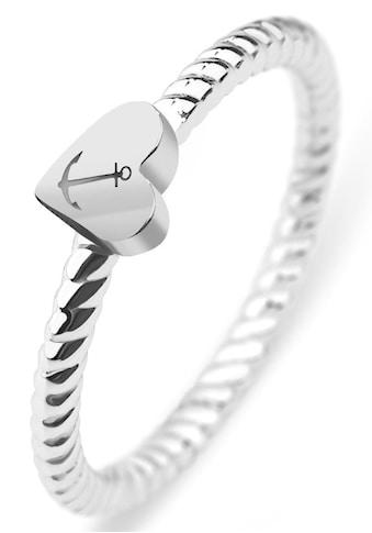PAUL HEWITT Fingerring »Rope , Herz/Anker, PH - FR - HRO - S - 50,52,54,56,58« kaufen