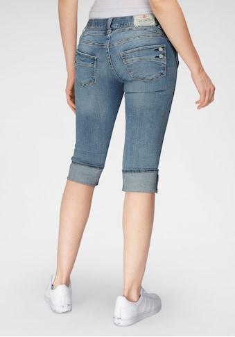 Herrlicher Jeansshorts »PIPER SHORT STRETCH«, mit Umschlagsaum kaufen