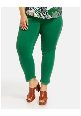 Samoon 7/8 - Jeans »7/8 Jeans Betty mit Fransenkanten« kaufen
