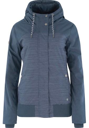 MAZINE Outdoorjacke »Chelsey B Jacket«, mit Streifen-Alloverprint kaufen