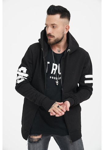 trueprodigy Sweatjacke »Fight for your Rights«, mit Ärmel und Rückenprint kaufen
