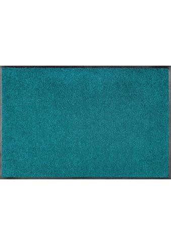 wash+dry by Kleen-Tex Fussmatte »Trend Uni«, rechteckig, 7 mm Höhe, Schmutzfangmatte,... kaufen