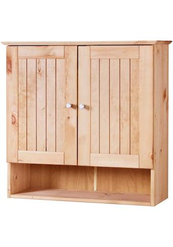 WELLTIME Hängeschrank »Venezia Landhaus«, Breite 63 cm, aus Massivholz kaufen