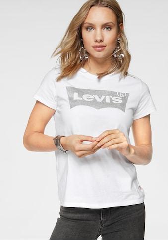 Levi's® T-Shirt »Batwing«, mit Logo - Glitzerprint kaufen