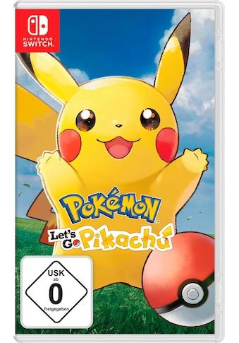 Pokémon: Let's Go, Pikachu! Nintendo Switch kaufen