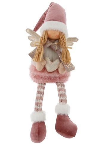 Kantenhocker »Engel mit Schal und Mütze« kaufen