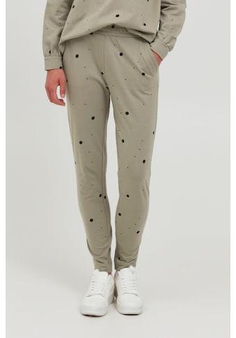 Ichi Sweathose »IHSTELLA PA 20114860«, lässige Sweatpants im Punkte oder Leo-Look kaufen