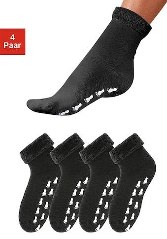 Go in ABS-Socken, (4 Paar), mit Antirutschsohle und Vollfrottee kaufen