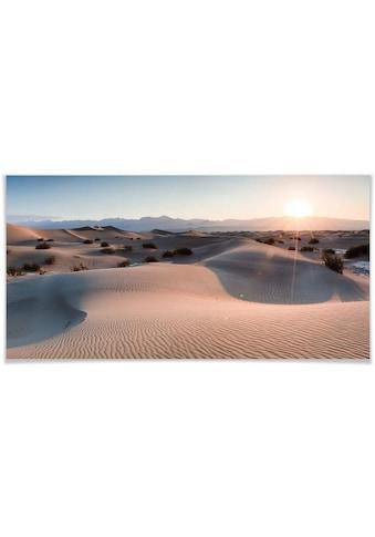 Wall-Art Poster »Wüste Death Valley«, Wüste, (1 St.), Poster, Wandbild, Bild, Wandposter kaufen