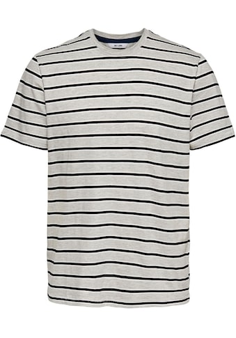 ONLY & SONS T - Shirt »MEL LIFE STRIPE TEE« kaufen