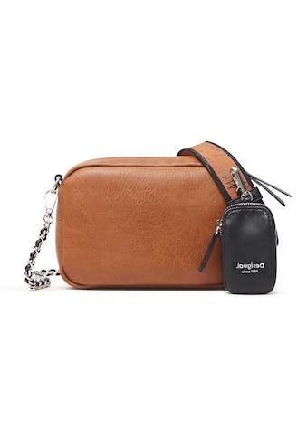 Desigual Umhängetasche, im kleinen Format, mit kleiner Zusatztasche kaufen