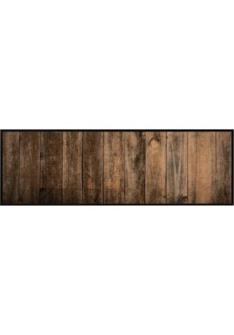 Küchenläufer, »Wood«, Zala Living, rechteckig, Höhe 5 mm, maschinell getuftet kaufen
