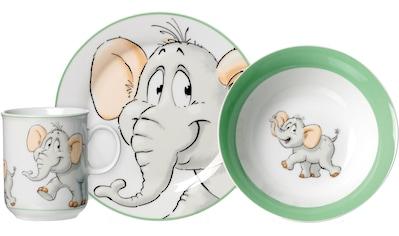 Ritzenhoff & Breker Kindergeschirr-Set »Happy Zoo, Eddie«, (Set, 3 tlg.), mit... kaufen