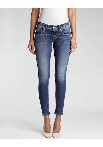 GANG Skinny-fit-Jeans »Faye«, mit ausgefranster Kante kaufen