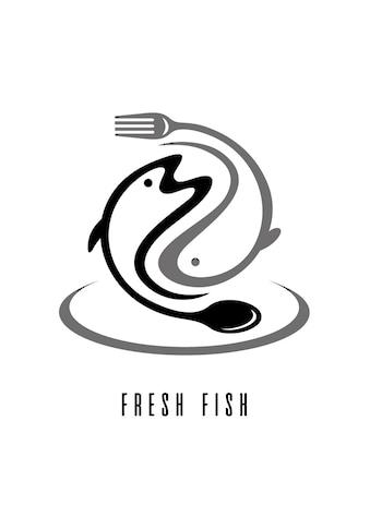 queence Wanddekoobjekt »FRESH FISH« kaufen